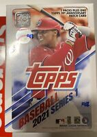 2021 Topps Series 1 Baseball Cards sealed blaster box -7 packs of 14 cards