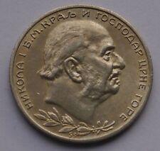 MONTENEGRO 1 PERPER 1914 NICHOLAS I