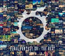 Music Game Soundtrack Cd Final Fantasy Xiv The Best Japan Bdm Blu-ray Disc