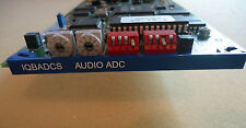 SNELL & WILCOX IQBADCS ANALOG TO DIGITAL AUDIO CONVERTER CARD WITH REAR MODULE