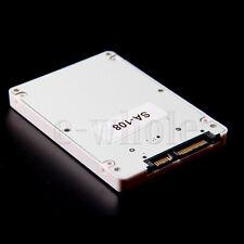 """1.8"""" Micro SATA 16pin SSD to 9mm 2.5"""" SATA 22P hard disk Converter Adapter Case"""