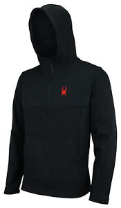 Spyder Men's Racer 1/4 Zip Pullover Hoodie, Color Options