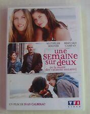 DVD UNE SEMAINE SUR DEUX - Mathilde SEIGNER / Bernard CAMPAN