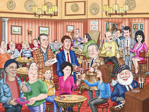 Only Fools And Horses - Cartoon British Comedy Wall Art Poster & Canvas Pictures