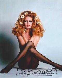 Brigitte Bardot HAND SIGNED 8x10 Photo Autograph & God Created Woman Contempt E
