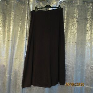 Aline Aubergine Skirt Woollen blend Size18 from Marks and Spencers