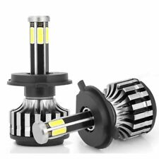 6 Sides H4 HB2 9003 LED Headlight Bulbs High Low Beam 12000LM 6000K Car Light
