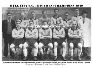 HULL CITY TEAM PRINT 1949 (DIV 3 NTH CHAMPIONS)