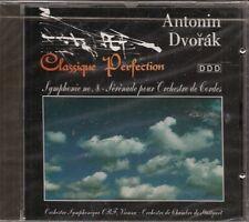 CD CLASSIQUE--ANTONIN DVORAK--SYMPHONIE N°8 / SERENADE
