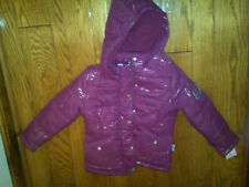 NWT $80 GIRLS SKECHERS PINK HOODED BUBBLE JACKET COAT SZ 6X CUTE AND WARM!
