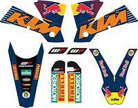 KIT DE PEGATINAS, ADHESIVOS, KTM EXC, SX 2004 DECAL, GRAPHICS
