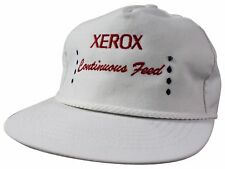 NEW VTG 90s XEROX Strapback CAP Adjustable HAT Made In USA NWOT! Copy Machine Co
