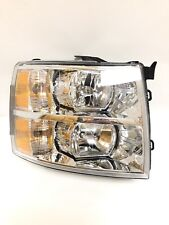 2007 - 2013 Chevy Silverado Headlight Eagle Eye Right Side Used Aftermarket.
