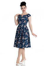 Hell Bunny Salina Rockabilly 50's Retro Vintage Swing Pinup dress 2XL-4XL