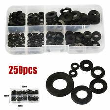 250 Pcs Nylon O-Ring Washer Assortment Set Gasket Plumbing Seal Kit M2-M8