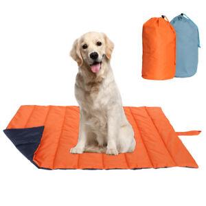 Indestructible Dog Bed Big Waterproof Pet Mat Mattress Cushion Outdoor Portable