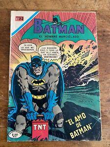 Batman El Hombre Murcielago #532 DC 1970 RARE MEXICAN EDITION MISTER MIRACLE N