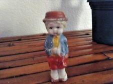 """Vintage 1950s Bisque Cute Little Japan C59 Boy Doll 3.25"""""""