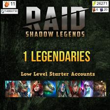 Raid Shadow Legends Starter Account, 1 Legendary (Choice of Legendary!)