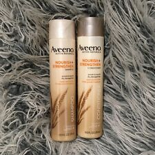 Aveeno Active Naturals Nourish Moisturize Shampoo & Conditioner 10.5 oz Disco