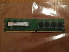 Hynix 1GB 1Rx8 PC2 - 5300U-555-12 Desktop Memory Module / HYMP112U64CP8-Y5 AB-C