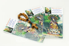 3 PCS Milk Grotto Rock Powder + Olive Wood Finger Rosary for Gift. Genuine. New