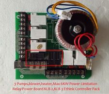Ethink Hot Tub Spa High Voltage Power Relay Board KL8-2 KL8-3 3 pump or 2 pump