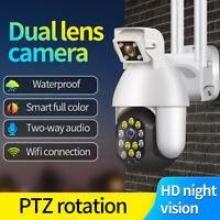 1080P Security WIFI IP CCTV Security Camera Wireless Outdoor HD Home PTZ IR Cam