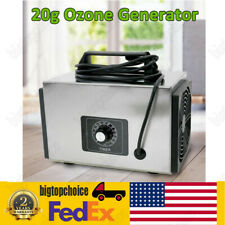 20000mg/h Ozone Generator Ozone Disinfection Device 20g Home Air Purifier bigto!