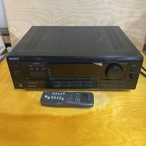 Sony STR-DA333 ES 5.1 Surround Home Theater Stereo Receiver Bundle Remote LJ302