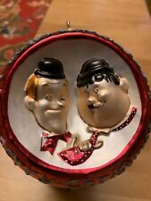 Laurel and Hardy Christmas Ornament