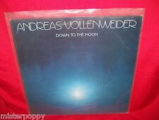 ANDREAS VOLLENWEIDER Down to the Moon LP 1986 HOLLAND EX+ Ambient ENO Harps