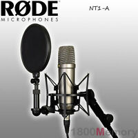 Rode NT1-A Studio Microphone Mic Bundle Complete Home Recording Package