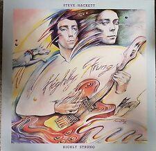 Steve Hackett Highly Strung 9 Track Vinyl Album (1) Rock/Classic/Prog
