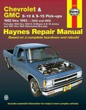 Haynes Chevrolet & GMC S-10 & S-15 Pick-Ups 1982-1993 Repair Manual