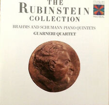 The Rubinstein Collection Brahms and Schumann Piano Quintets Guarneri Quartet
