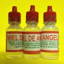 3 ANGEL HONEY EYE DROPS 0.5 OZ EACH / MIEL DE ANGEL GOTAS