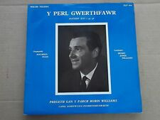 Y PERL GWERTHFAWR - PREGRTH GAN Y PARCH ROBIN WILLIAMS LP welsh church service
