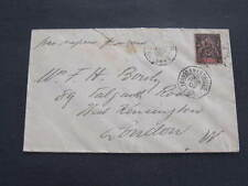 Marine postmark French Mailboat Postmark sent from Dahoney to London 1902