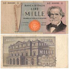 Italy 1000 Lire P#101d (1975) Banca d'Italia VF