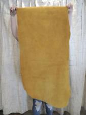 4-6 oz. Gold Buffalo Bison Leather Hide for Native Western Crafts Moccasins