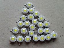 25 PCS/LOT Cold White 1W 100-120LM LED Bulb IC SMD Lamp Light Daylight
