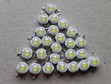 25 Pcslot White 1w 100 120lm Led Bulb Ic Smd Lamp Light Daylight