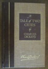 A TALE of TWO CITIES by Charles Dickens 1982 fine binding B/W PAGE ILLUSTRATIONS