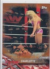 2017 TOPPS WWE SEXY CHARLOTTE BRONZE PARALLEL WRESTLING CARD #5