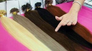 "SLAVIC REMY 55-65cm VIRGIN HAIR NATURAL DOUBLE DRAWN RUSSIA 100g  22""-26"""
