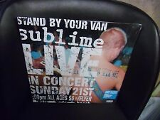 SUBLIME Stand By Your Van LIVE In Concert LP NEW vinyl