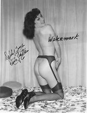 LENNY BURMAN 59 Vintage Photo* hand signed*Burlesque*DORIS GOHLKE*DELILAH JONES