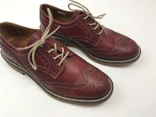 Aldo Mr. B's Men's Leather Brogue Shoes Size 41 US 8 Brick Wing Tip Adamis $150