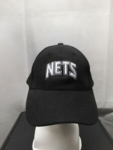 Retro New Jersey Nets Visa Signature SGA Strapback Hat NBA